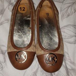 Michael kors kids slip on shoes